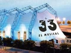 Christian Escuredo, tras 'Fariña', encarna a Jesús en '33, El Musical'