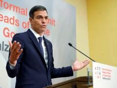 Pedro Sánchez, en el Consejo Europeo informal de Salzburgo.