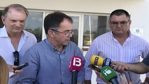 El alcalde de Sant Josep, Marí Ribas