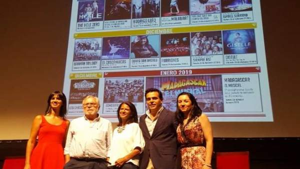 Presentación de la programación del Teatro López de Ayala de Badajoz