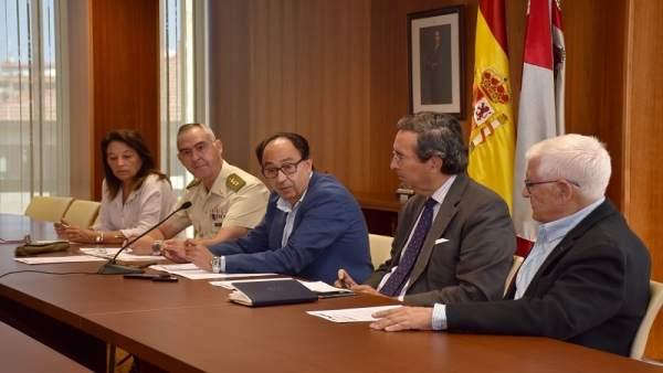 Andrés, Velasco, López, Marichalar y Ruiz Liso.