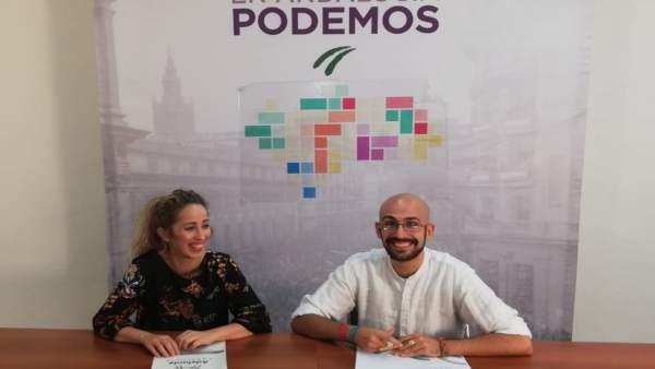 Mercedes Barranco y Pablo Pérez