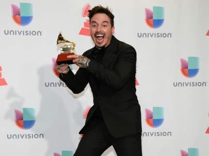 J Balvin en los Grammy Latinos de 2015.