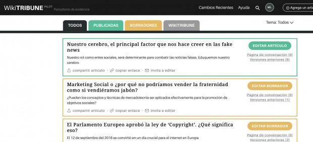Wikipedia lanza un periódico digital y colaborativo en español contra las noticias falsas