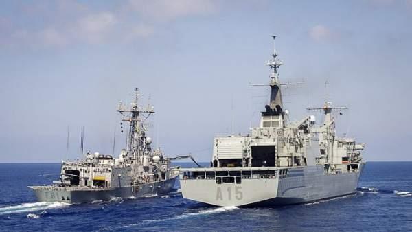 El buque 'Cantabria'