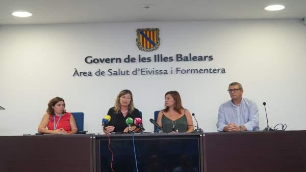 Rueda de prensa de Armengol en Ibiza