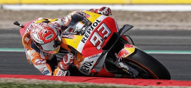 El piloto español de motociclismo Marc Márquez
