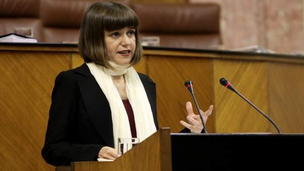 La parlamentaria andaluza por Almería, Lucía Ayala
