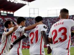 Goleada del Sevilla en 'su' Europa League para calmar los ánimos