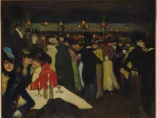 Pablo Picasso. Le Moulin de la Galette, París, ca. noviembre de 1900