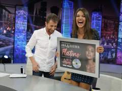 """Ana Guerra: """"Me encanta venir a 'El hormiguero' porque siempre me dais discos de Platino"""""""