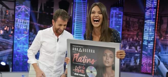 Ana Guerra en 'El hormiguero'.