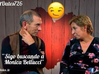 Luis y Susana en 'First dates'.