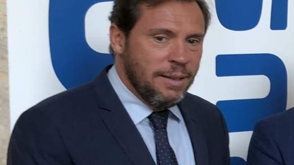 El alcalde de Valladolid, Óscar Puente, 21-9-18