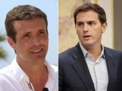 Casado y Rivera, dos proyectos para el mismo espacio político