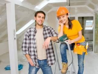 Reformas en la construcción, obreros