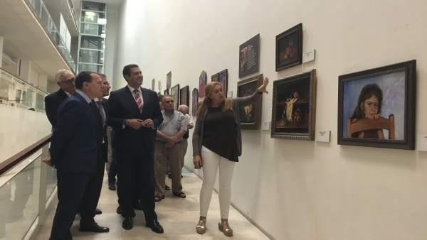 Inauguración De La Exposición De Pintura 'Con Otra Mirada'