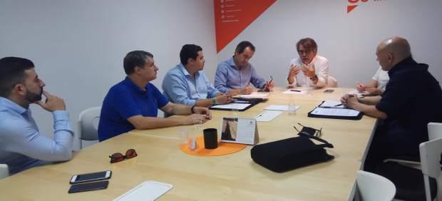 Cs muestra su apoyo al trabajo que la Guardia Civil desarrolla en Baleares