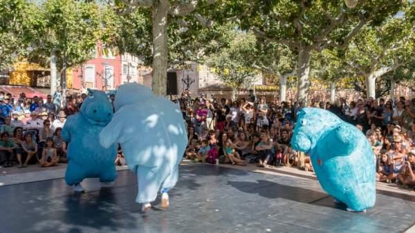 Espectáculo 'Hippos'
