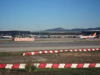 Aeropuerto de Barcelona El Prat.