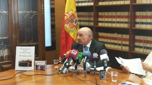 Vicente Rouco (TSJCM) presenta Memoria Judicial 2018