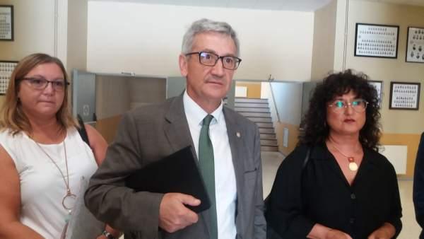 SANTIAGO GARCÍA, RECTOR UNIVERSIDADE DE OVIEDO