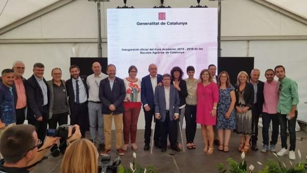 Jordà y Bargalló abren el curso de las escuelas agrarias