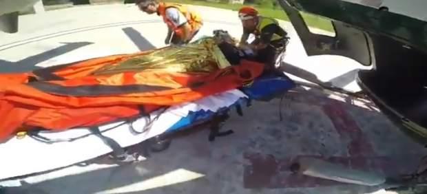 Rescatan a una excursionista tras caer desde seis metros en el Torrent de Pareis