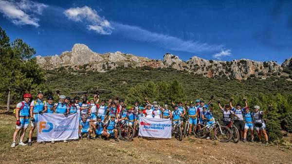 Reto 'Pedalea por Sierra Nevada para cambiar la diabetes'