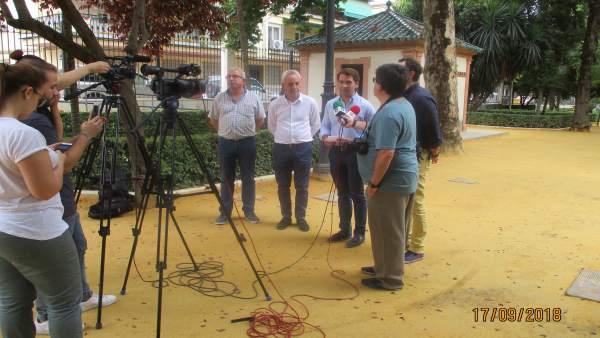 La Diputación de Córdoba entrega obras en Cabra