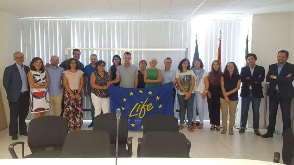 Participantes en proyecto europeo LIFE