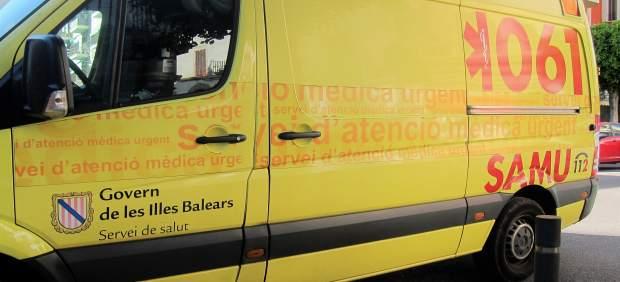 En estado crítico una mujer de 25 años tras sufrir un accidente de tráfico en Ibiza