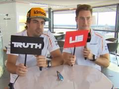 Las confesiones de Alonso y Vandoorne en el 'verdadero o falso' de la F1