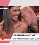 Kiko Matamoros con Sofía Suescun