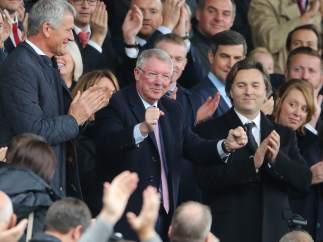 Alex Ferguson cumple su palabra y vuelve a pisar Old Trafford