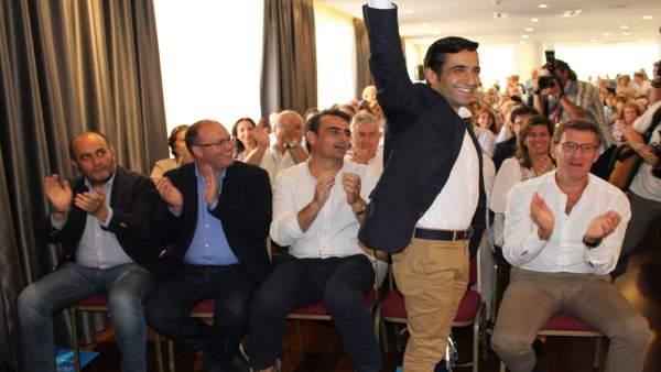 Rey Varela, reelegido presidente local del PP de Ferrol