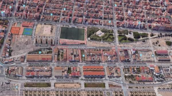 Calle Eugenia Viñes de València