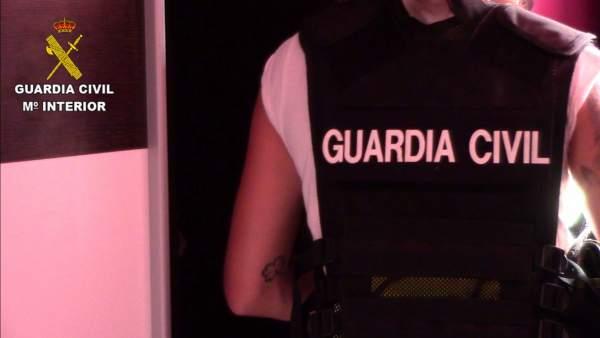 Guardia Civil en la operación Titanum