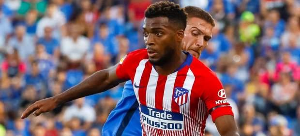Lemar lidera la victoria del Atlético de Madrid en Getafe