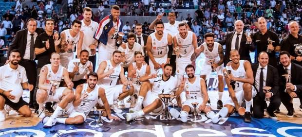 El Real Madrid abre la temporada ganando la Supercopa al Baskonia en la reedición de la final de ...
