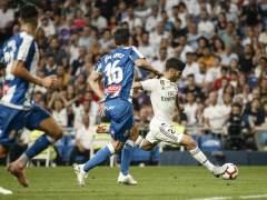 El Real Madrid gana sufriendo al Espanyol