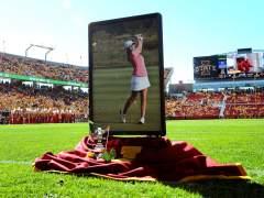 Así fue el homenaje a Celia Barquín, la joven golfista española asesinada en EE UU