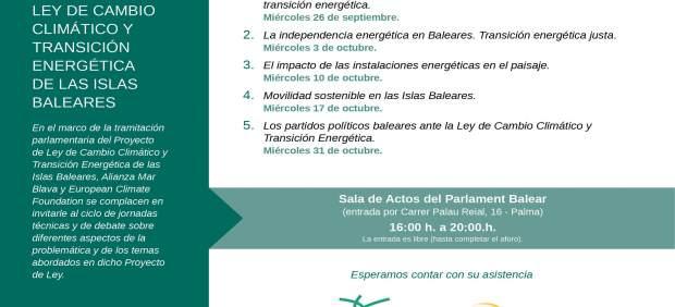 Picornell presenta un ciclo sobre 'El proyecto de Ley de cambio climático y transición ...