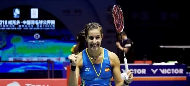 Carolina Marín sigue haciendo historia tras ganar el Abierto de China