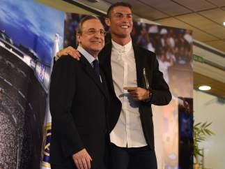 Cristiano Ronaldo y Florentino Perez
