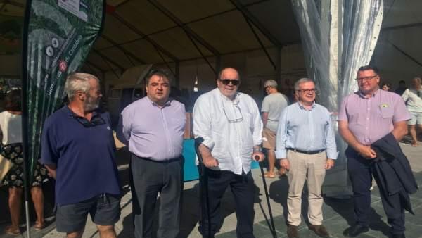 Oria visita la Feria del Burgo Trasmerano