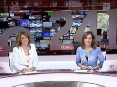 La bonita dedicatoria de Raquel Martínez en su primer día en el 24 Horas tras ser cesada en el Telediario
