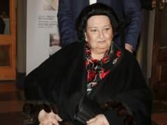 Montserrat Caballé, hospitalizada en Barcelona