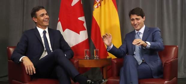 Pedro Sánchez pone a Quebec como ejemplo para resolver conflictos como el de Cataluña