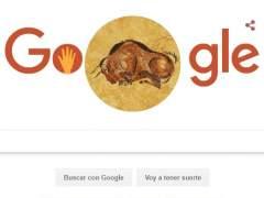 Google dedica un doodle a la cueva de Altamira